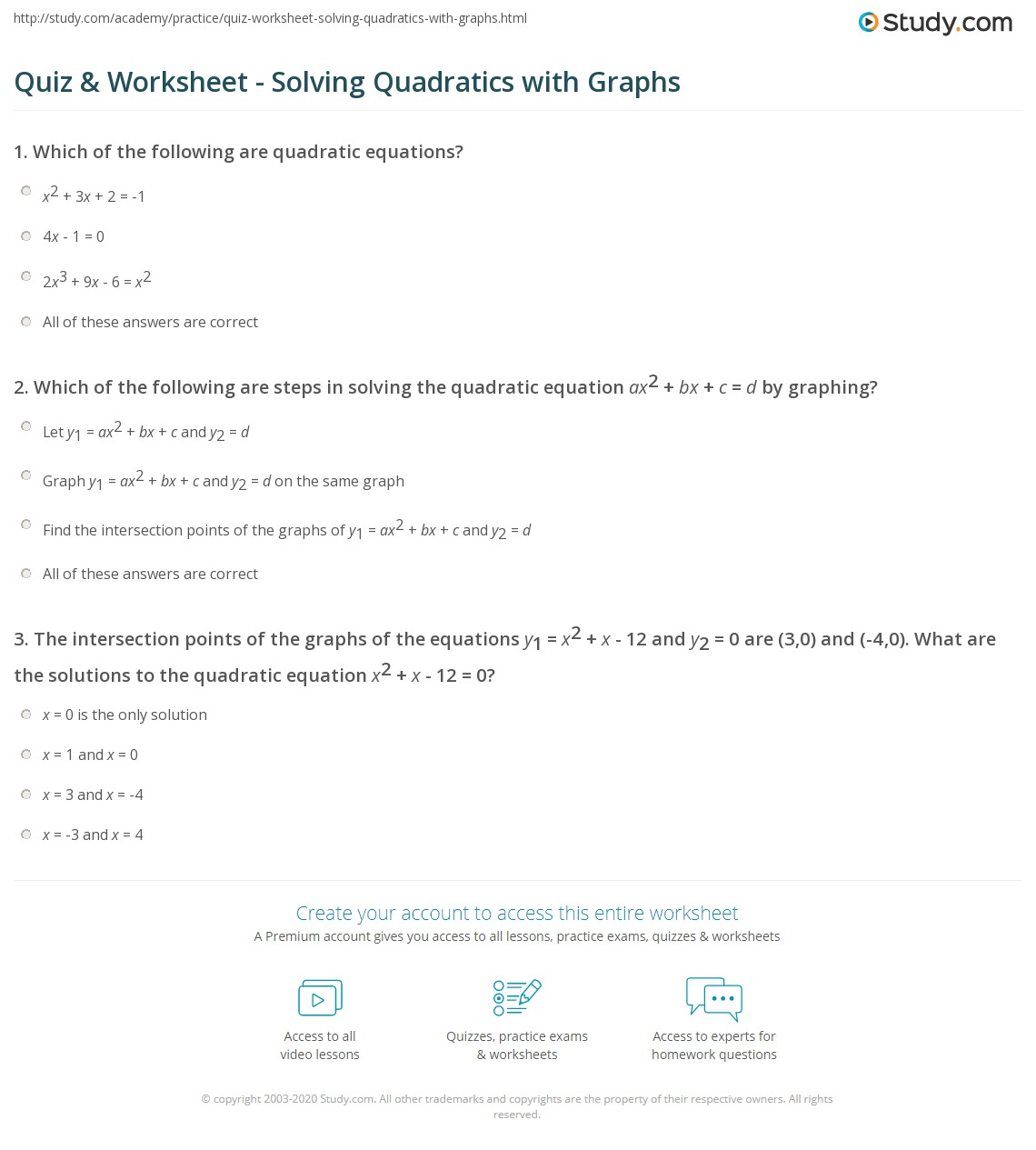 Steps To Solving Quadratic Equations By Taking Square Roots
