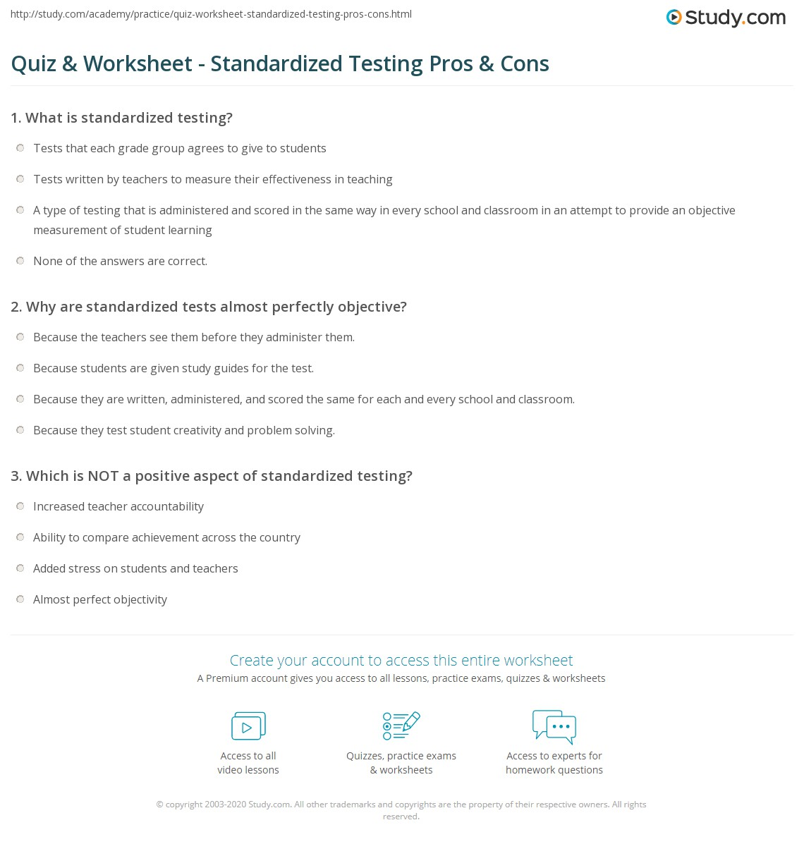 12 Primary Pros and Cons of Standardized Testing