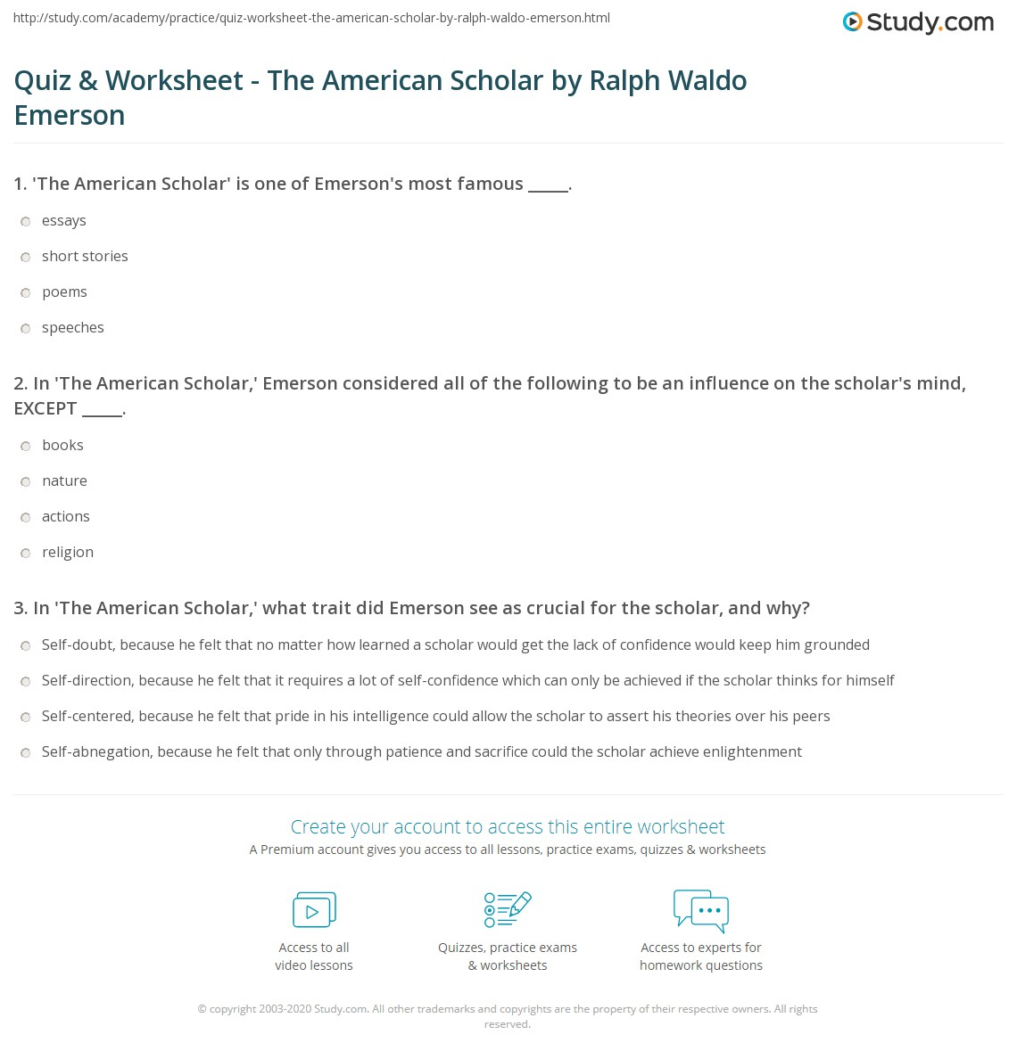 emerson college essay prompt End-of-course writing prompts author ralph waldo emerson wrote to finish high school in three years and enter college or the work force one year early.