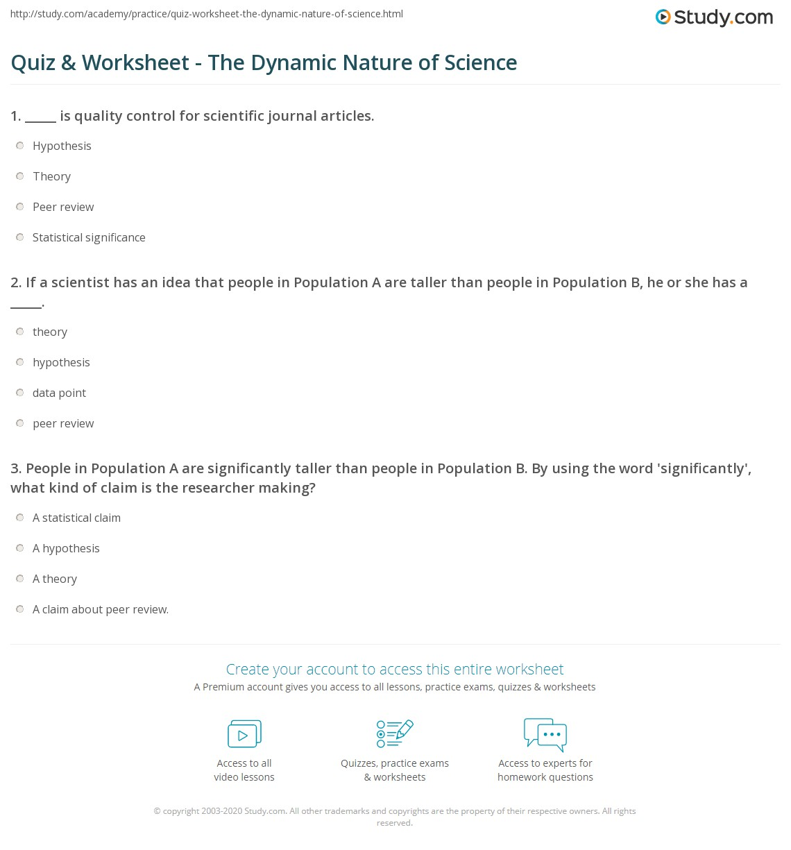 Printables The Nature Of Science Worksheet printables the nature of science worksheet answers safarmediapps worksheets pichaglobal bloggakuten