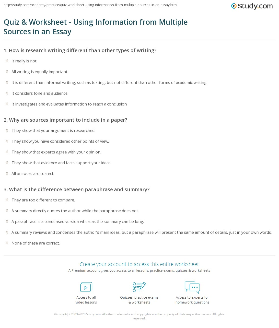 source for essay Searching for essay research this guide will help you find and evaluate essay sources for your paper.