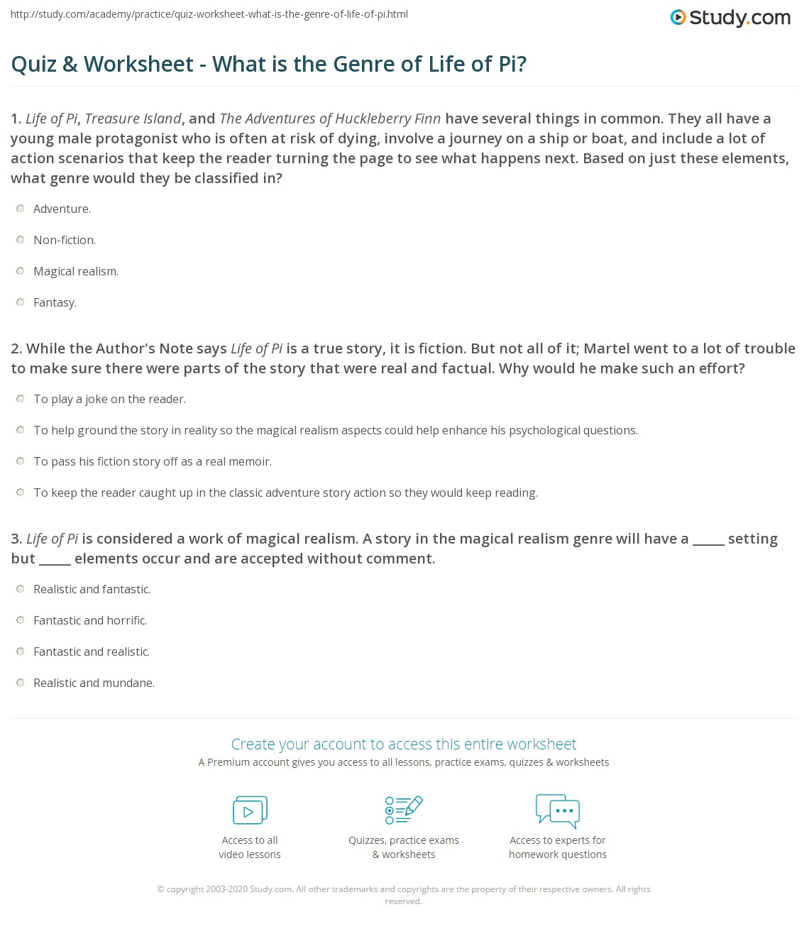 Free Worksheet Genre Worksheet quiz martel went to a lot of trouble make s