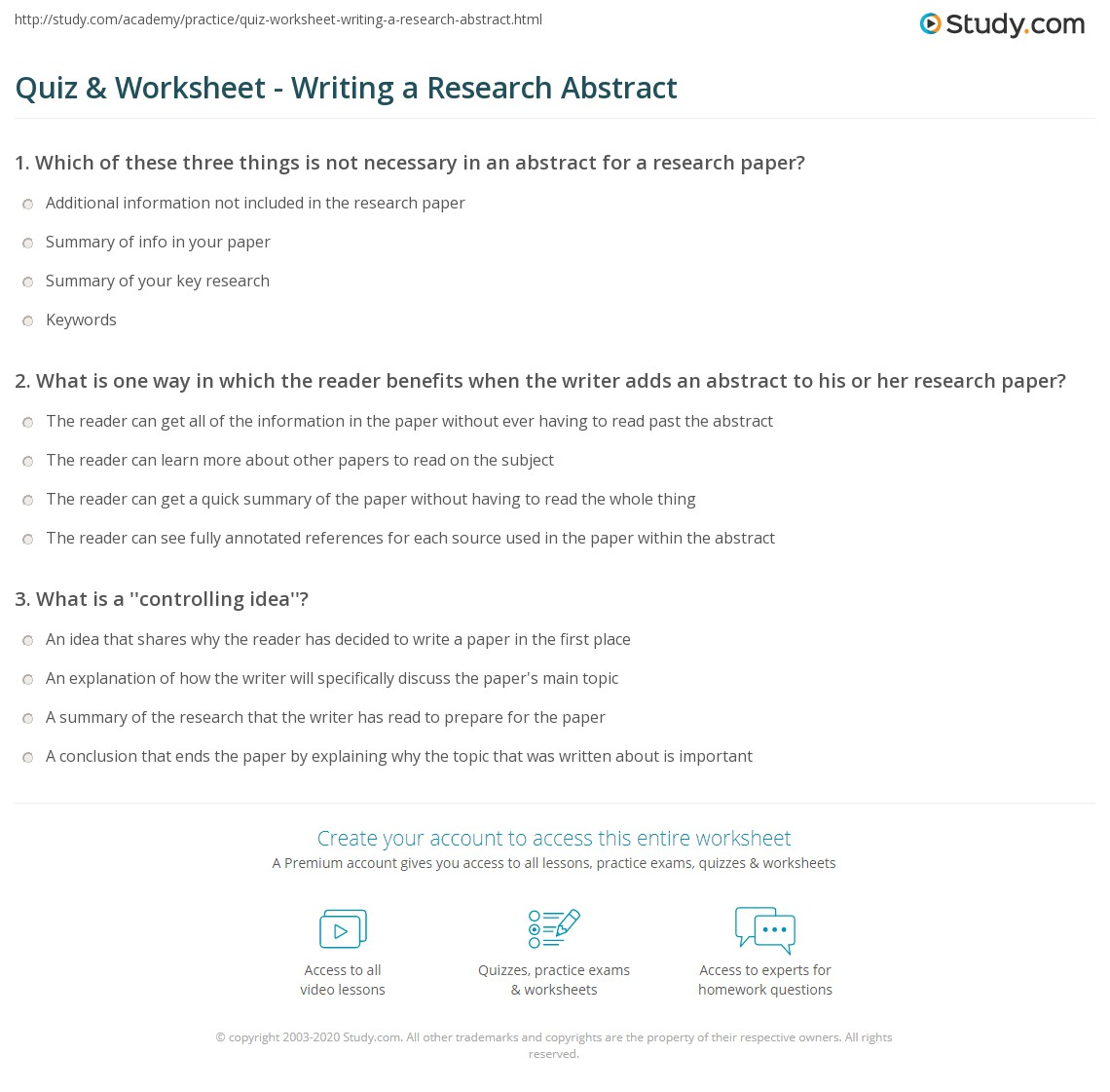 "write background study research paper Hint: when writing the background section, keep thinking ""why should my ceo care about this problem"" objective describe in very brief terms what the expected product of this research will be the objective should be short, concise, and accurate don't put details in the objective related to how the study will be done."