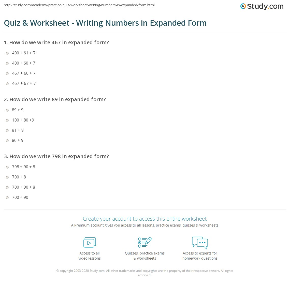 math worksheet : quiz  worksheet  writing numbers in expanded form  study  : Decimal Expanded Form Worksheets