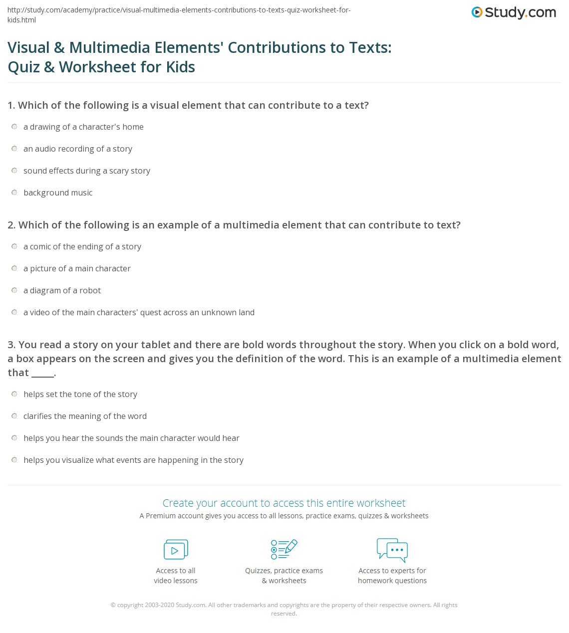 Interpreting Text And Visuals Worksheet Free Worksheets Library