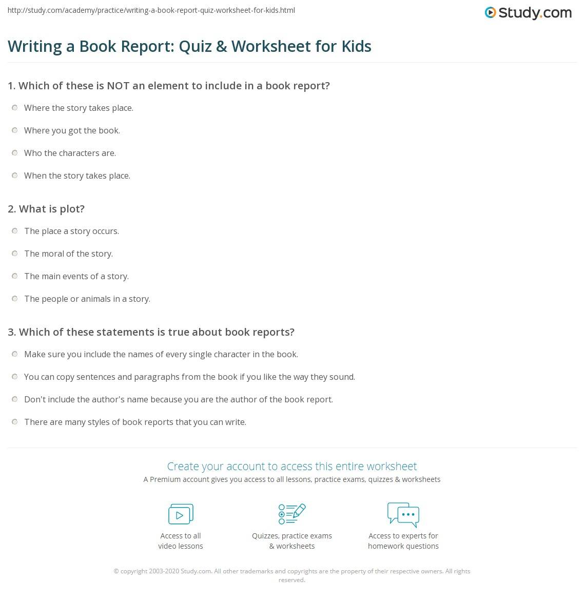 Top Essay Writing Kids Write Book Review Online