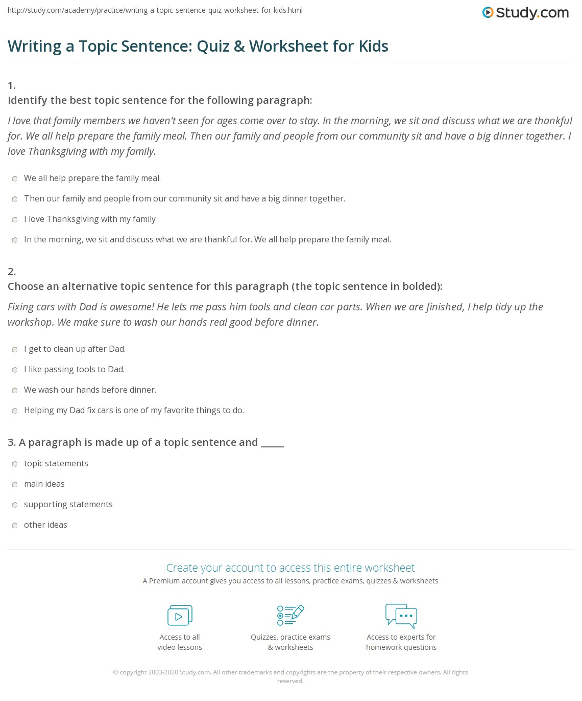 Printables  Paragraph Correction Worksheets  Sharpmindprojects