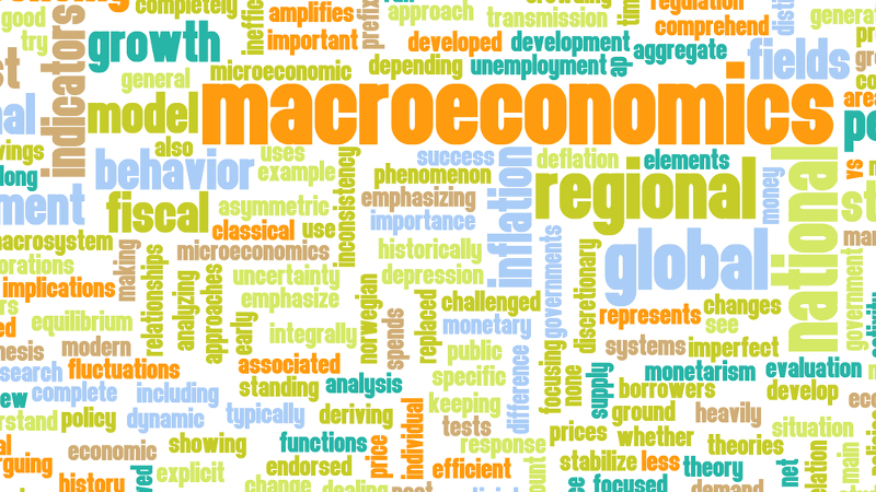 a study of macro economics Includes game theory (the study of strategic decision making), decision theory ( the  macroeconomic theories consider the phenomena of output and income,.