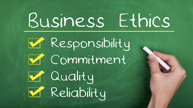 Essay about ethics in business