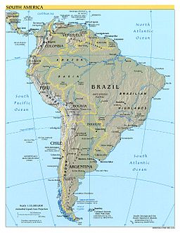 South America Countries Facts Studycom - Map of south american countries