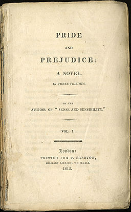 Essay title for Pride and Prejudice?