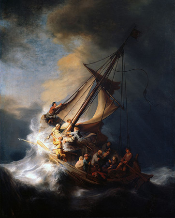 Rembrandt, The Storm on the Sea of Galilee (1633)