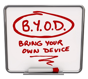 Bring your own device to school.