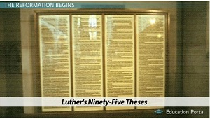 date luther nailed 95 theses Exactly 500 years ago today, on october 1517, martin luther nailed his seminal work, the 95 theses, to the door of a church in wittenberg, germany the german monk was a vocal critic of the church's practice of selling indulgences which were said to reduce time in purgatory in return for a financial.