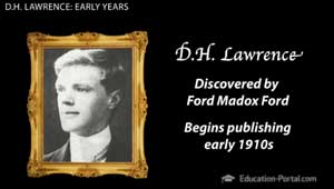 D H Lawrence Early Years