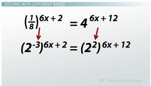 Solving with different bases