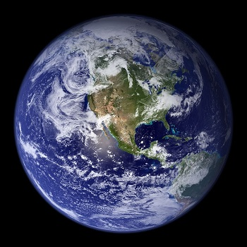 An image of Earth.