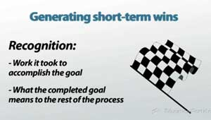 Generating Short-Term Wins
