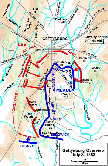 Battle Of Antietam Simple Map July 3Battle Of Antietam Simple Map