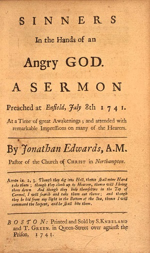 Sinners in the Hands of an Angry God publication