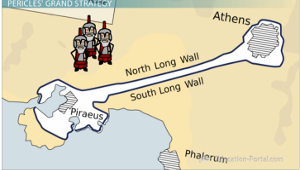 Athens Wall Map