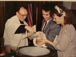 A Catholic Baptism