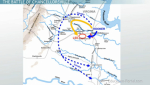 Chancellorsville Battle Map