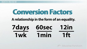 Conversion Factors Examples