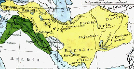 Persian Empire at Cyrus