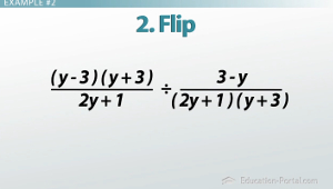 Dividing Rational Expression Example 2