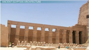 Ancient Egyptian Architecture History Characteristics