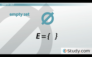 symbol for empty set