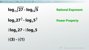 Evaluating Logs Example 3