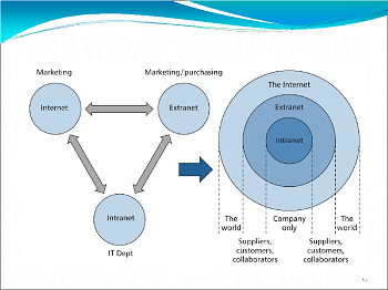 what is extranet    definition  amp  concept   study comextranet diagram