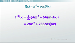 Fourth Derivate Solution