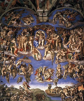 michelangelo the painting of sistine chapel com the last judgment