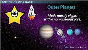Gas Giant Outer Planets