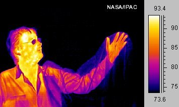 Infrared Image of a Human