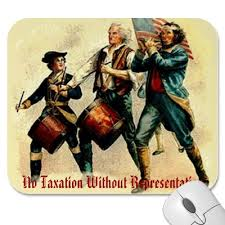 ''no Taxation without representation?