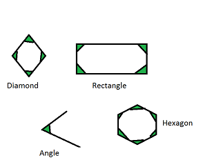 What are interior angles definition examples - Define exterior angle of a polygon ...