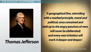 Jefferson Opposition Slavery Line