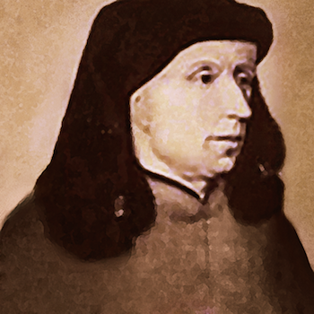Portrait of Johannes Ockeghem