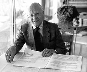 Photo of Witold Lutoslawski