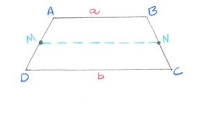 how to find a base of a trapezoid