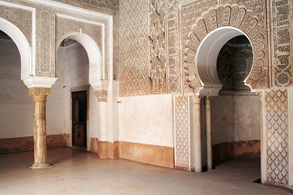 A Mosque In Marrakech