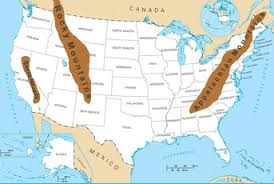 Mountain Ranges In The United States Their Effects Studycom - Mountain ranges of the united states