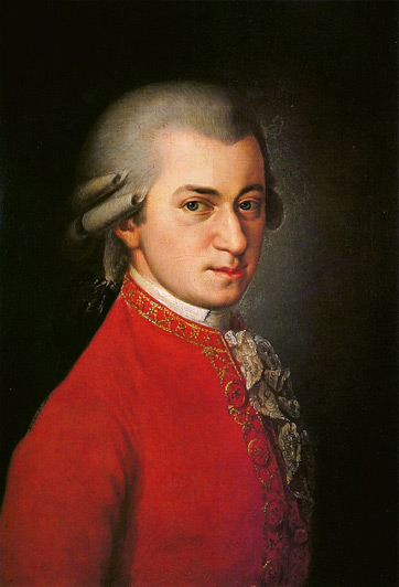 Mozart As A Teenager