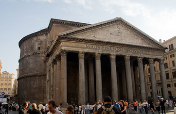 pantheon - Roman Design Architecture