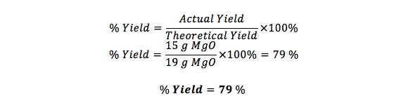 How to Calculate Percent Yield Definition Formula Example – Percent Yield Calculations Worksheet