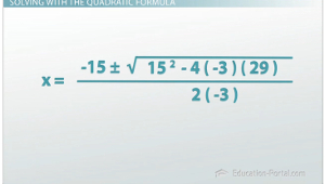 Quadratic Example 2 Setup